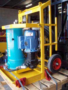 Custom designed Oil Cleaning Centrifuge