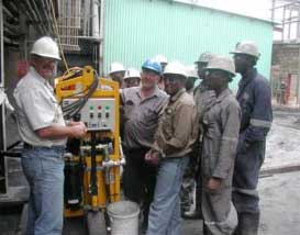 Training personnel to use Lubemaster