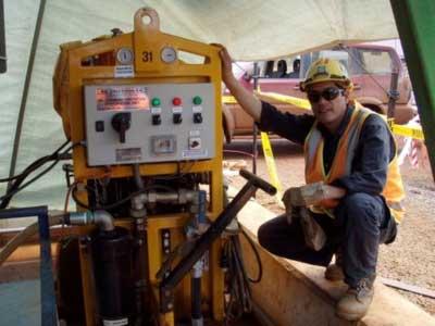 Lubemaster filtering transformer oil