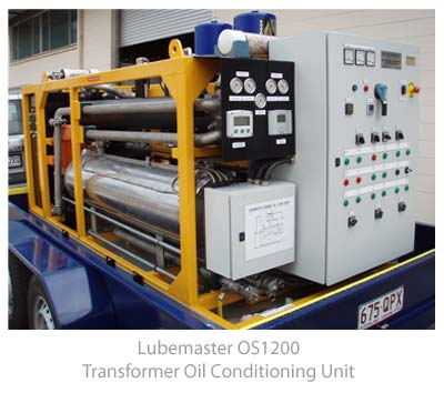 Lubemaster OS1200 Transformer Oil Cleaning Unit
