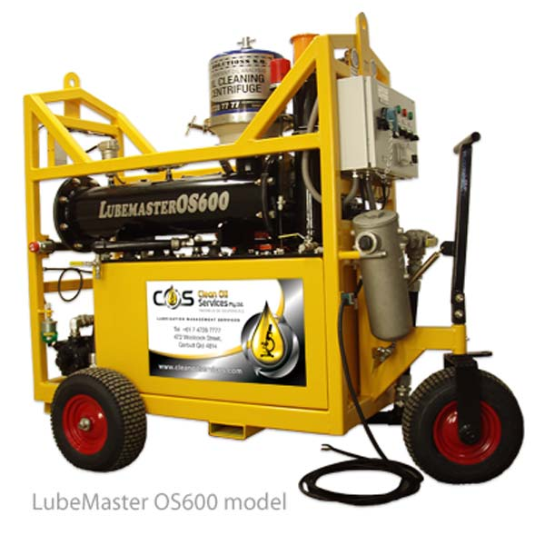 Lubemaster Portable Oil Cleaning Centrifuge